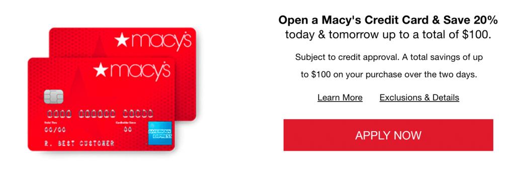 macys credit card login